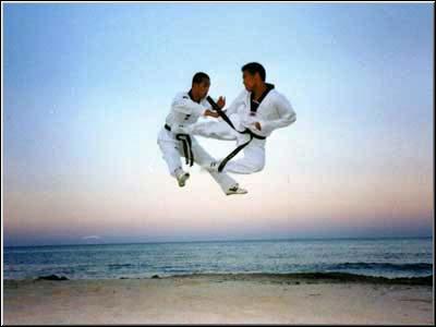 اعلان عن بدء رياضة التكواندو Taekwondo